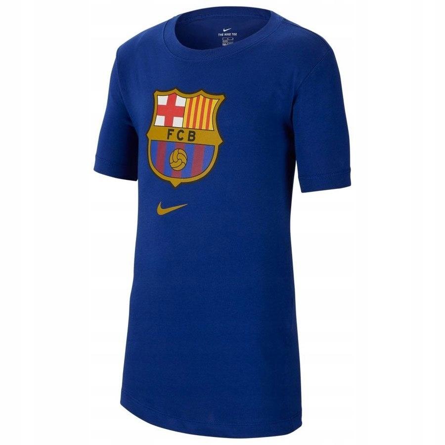 Koszulka Męska Nike FC Barcelona niebieska M