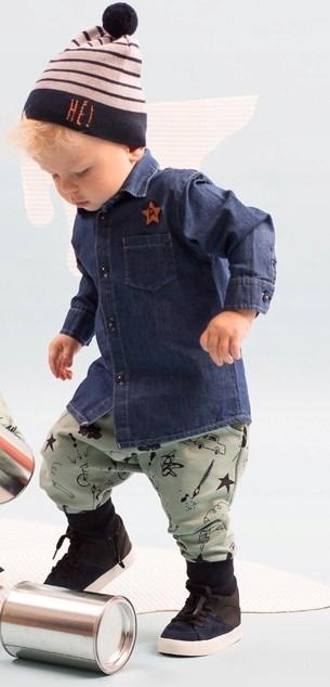 Koszula jeansowa XAVIER bawełna Pinokio 86 7812281076  tbMLh
