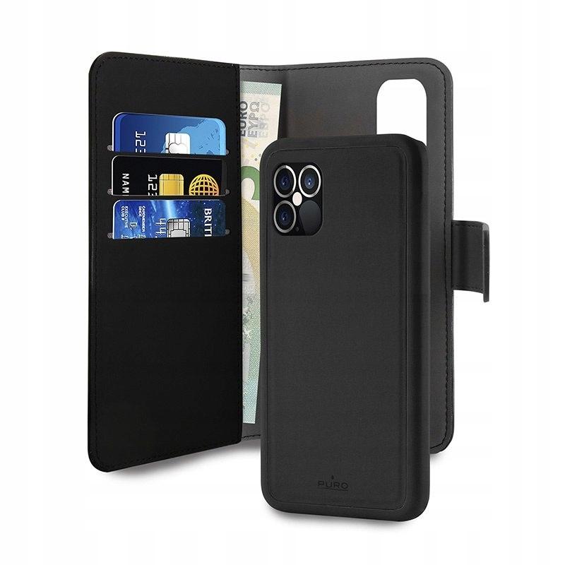 Etui PURO Wallet Detachable 2w1 Apple iPhone 12/12