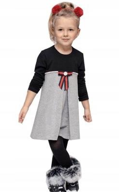 MAŁA MI elegancka sukienka 146/152 NOWA
