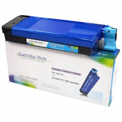 Toner Cartridge Web Cyan OKI C710/C711 zamiennik 4