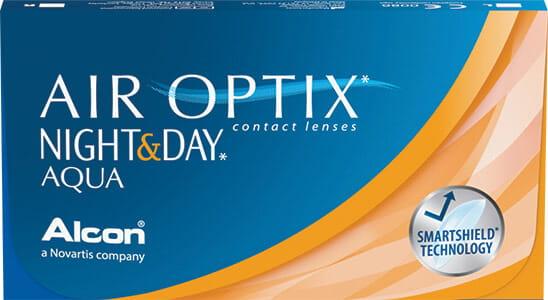 Air Optix Night&Day Aqua, 6 szt. BC 8.6 +4.25
