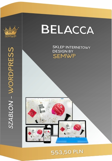 Szablon CMS WordPress Sklep Internetowy Bellaca