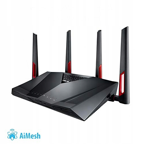 34E11 Router Asus RT-AC88U, USB 3.0