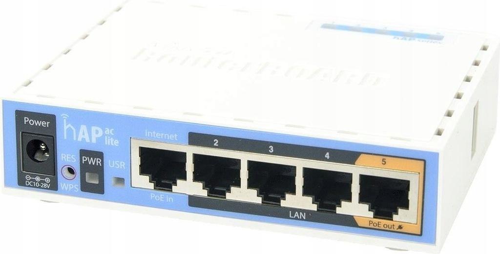 Punkt bezprzewodowy MikroTik RB952Ui-5ac2nD