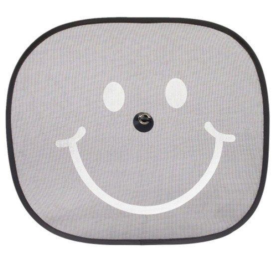 Osłona przeciwsłoneczna 2 szt. uśmiech przyzsawka