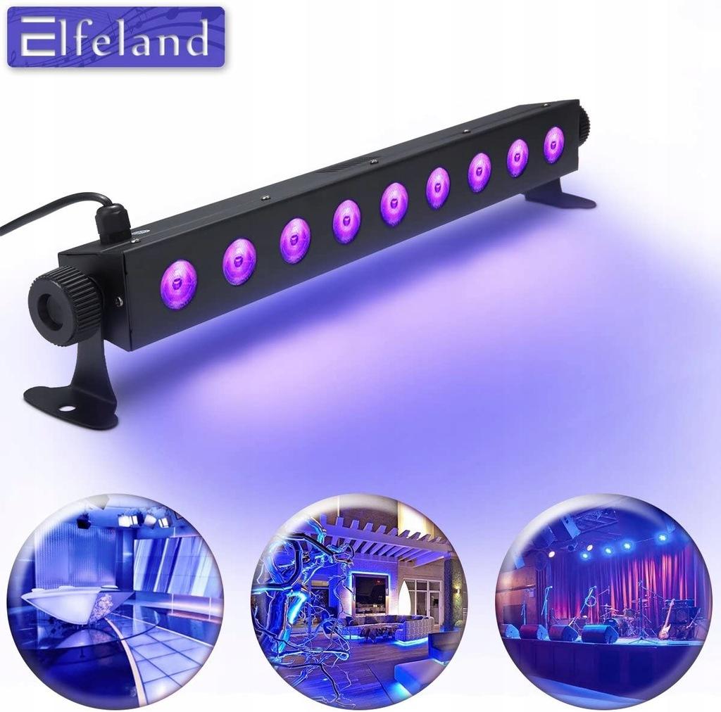 Lampa LED UV oświetlenie Elfeland 9 DIOD