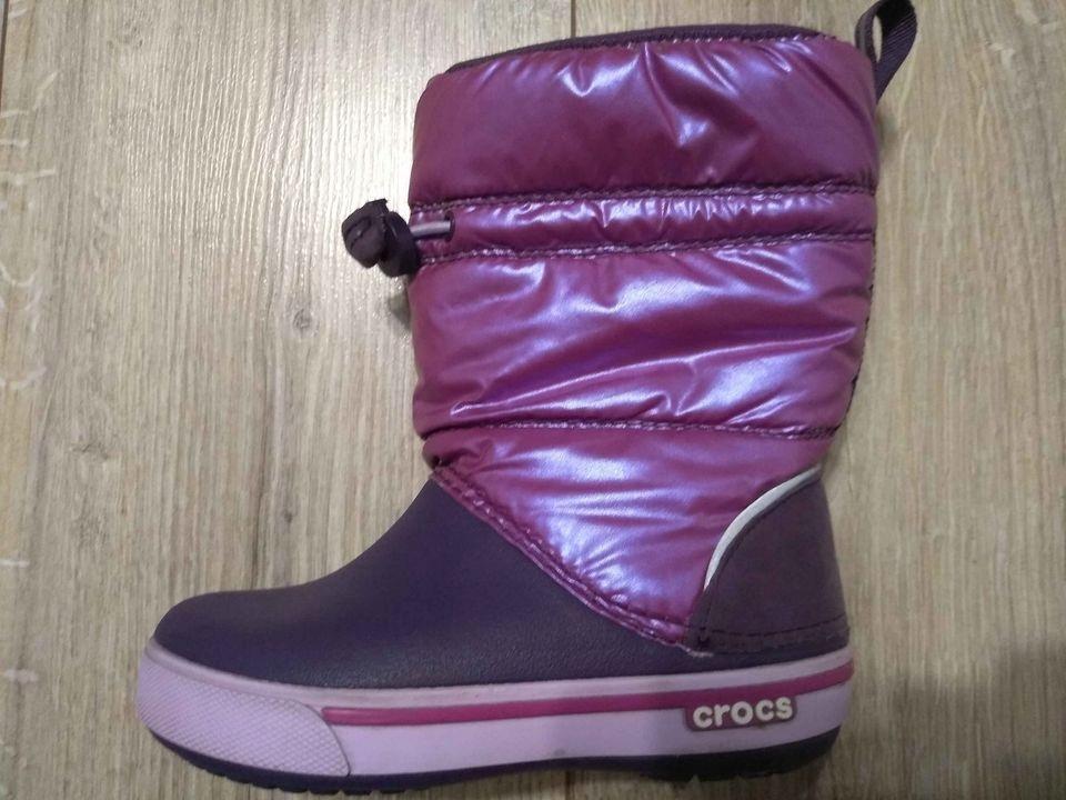 Crocs Crocband Iri Gust Boot śniegowce 27/28