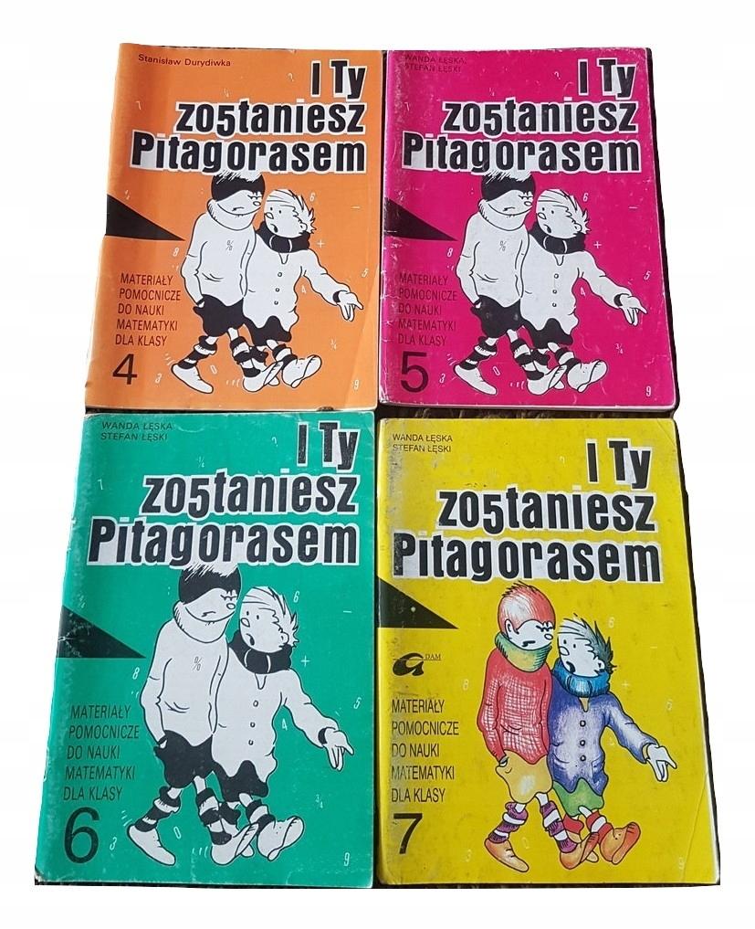 I Ty Zostaniesz Pitagorasem 4 5 6 7 8975965571 Oficjalne Archiwum Allegro