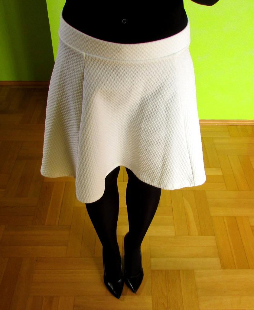 spódnica pikowana H&M S/36