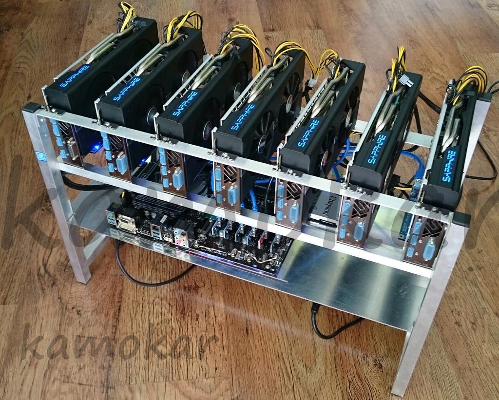 Nowa koparka kryptowalut 7x GeForce RTX 2070 8GB