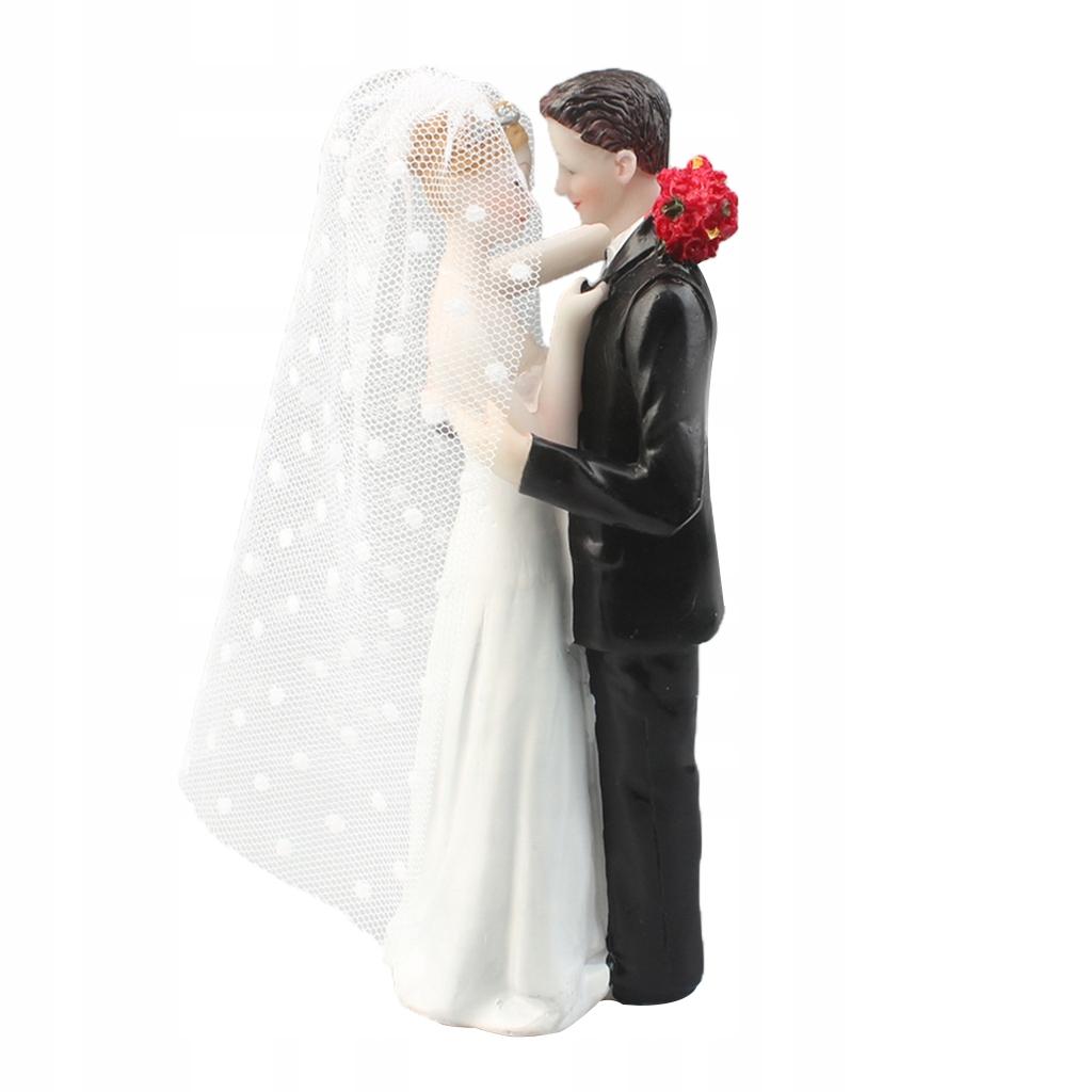 1 sztuka lalki Topper tort weselny