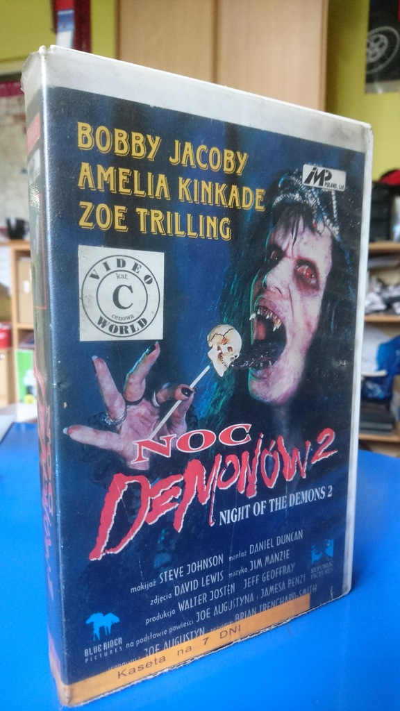 VHS Night Of The Demons 2. Noc Demonów 2. Lektor