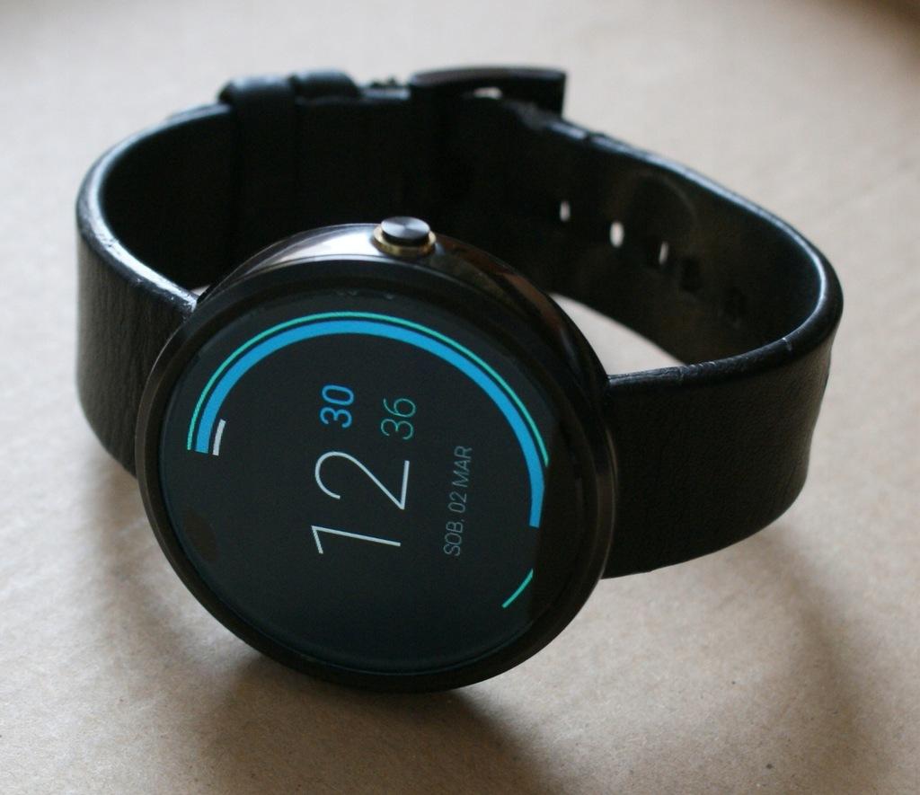 Smartwatch Motorola Moto 360 Lenovo Moto360 wada