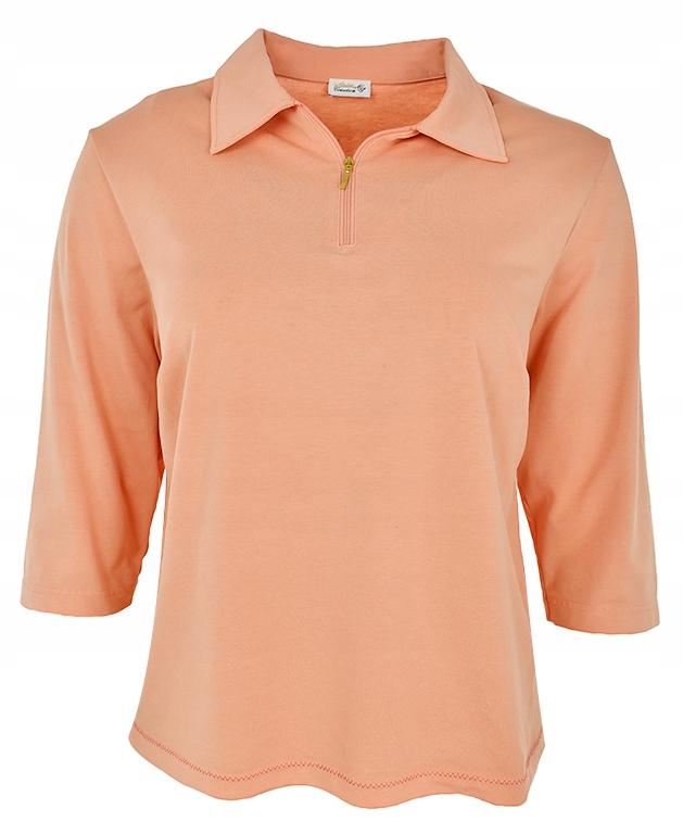 eAB0650 pomarańćzowa koszulka polo 46