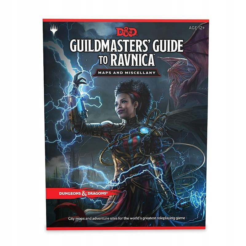 DnD Guide to Ravnica Maps and Miscellany ENG