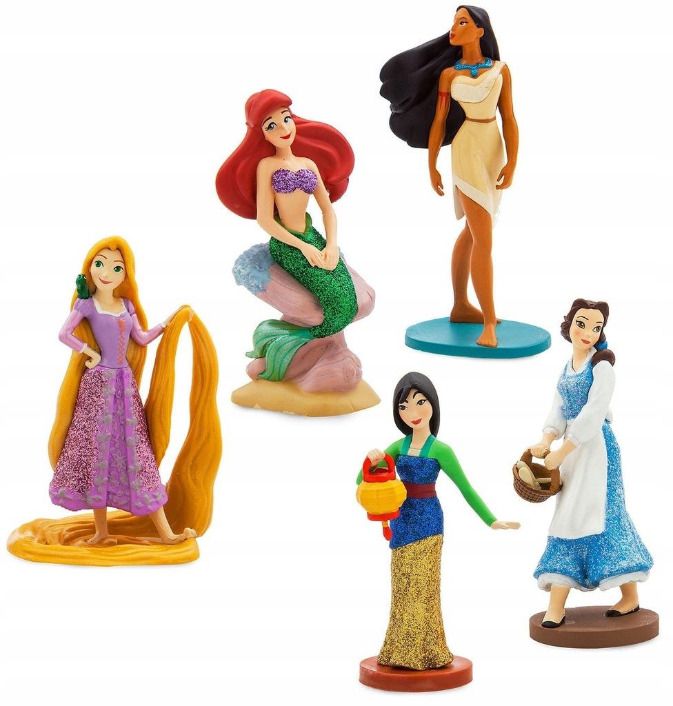 Księzniczki Disney store Roszpunka Bella Arielka