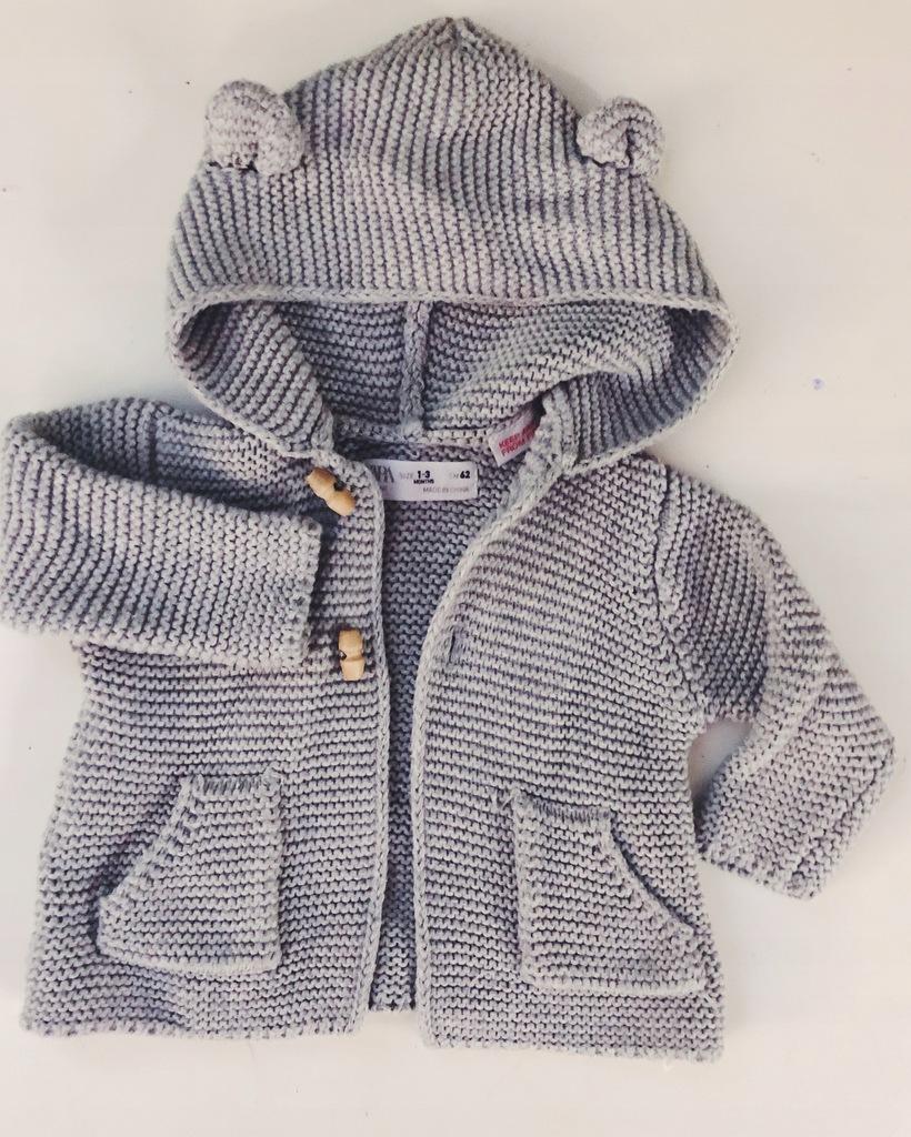 Zara sweterek 3 msce 62