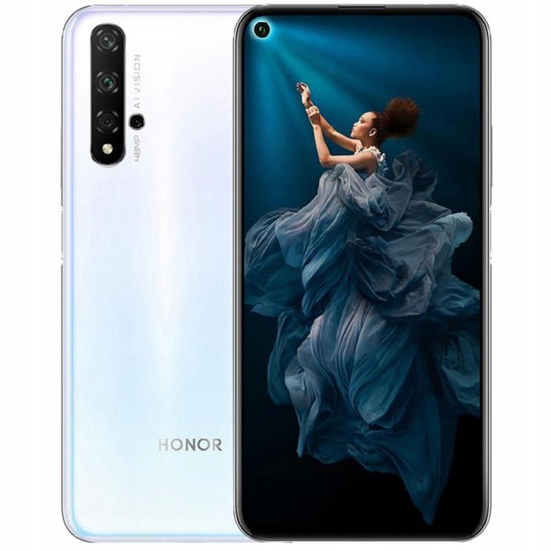 Honor 20 Pro 8 256gb Nfc Ds Bialy White 8588133658 Oficjalne Archiwum Allegro