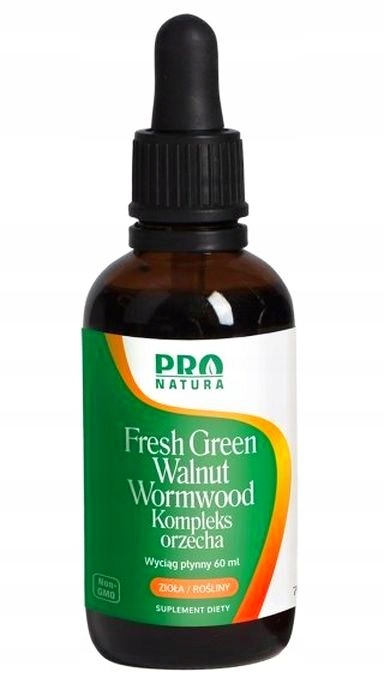 NOW FOODS FRESH GREEN WALNUT kompleks orzecha 60ml