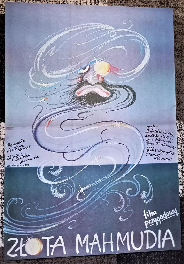 plakat - ZŁOTA MAHMUDIA - Terechowicz 1987