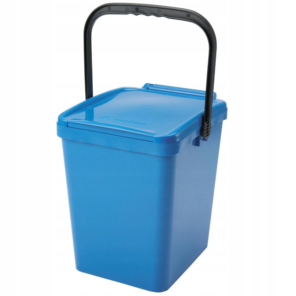 Pojemnik kubeł kosz do sortowania na śmieci 21L