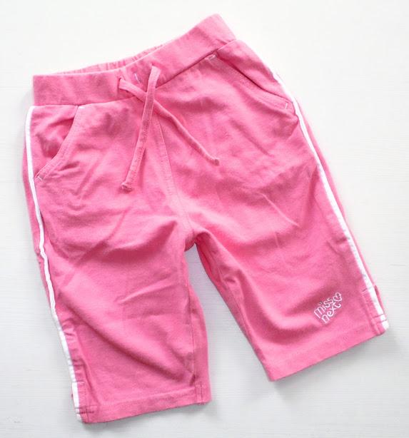 *NEXT* dresowe spodenki roz.74