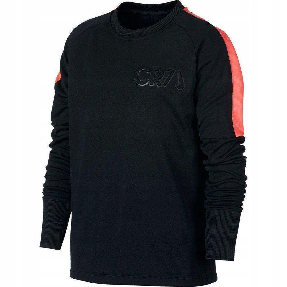 Koszulka Nike CR7 B Dry Crew Top JUNIOR czarno czerwona