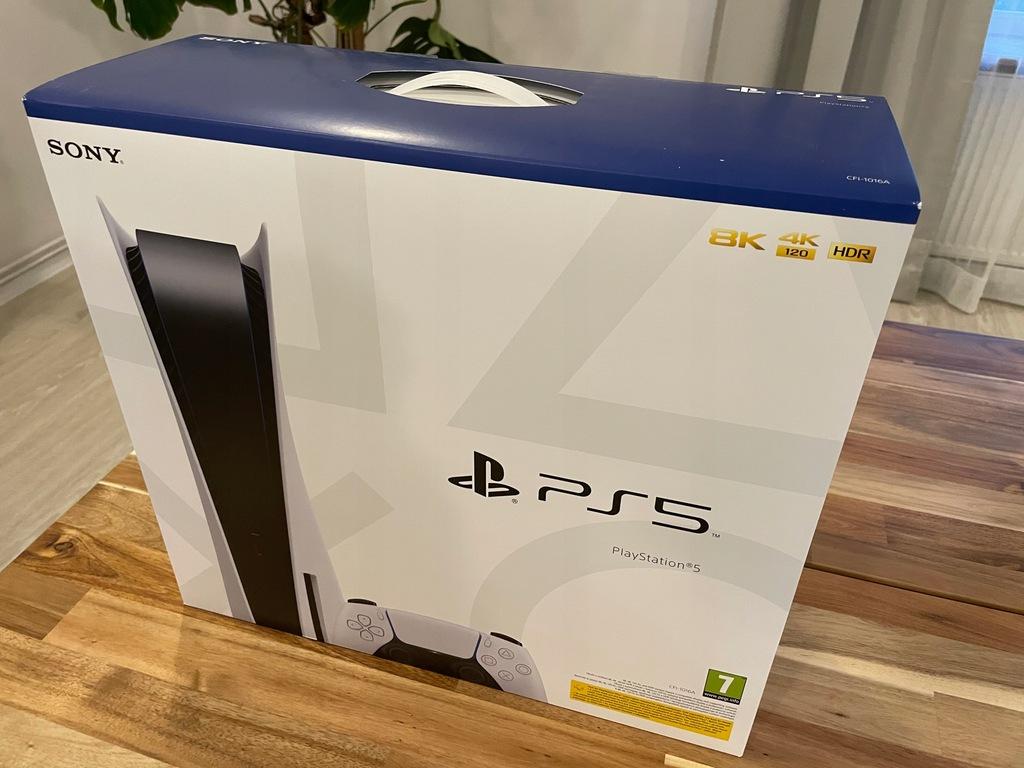 Konsola Sony PS5 z napędem PlayStation 5 + 14 GIER