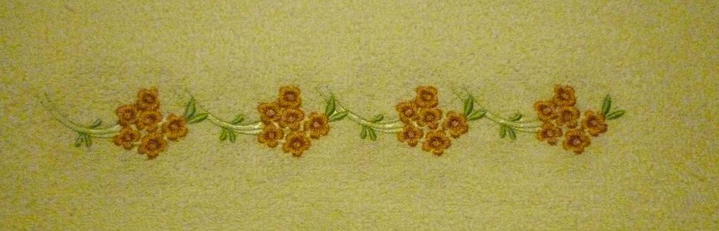 Ręcznik do rąk biały z haftem NOWY Dla Babci