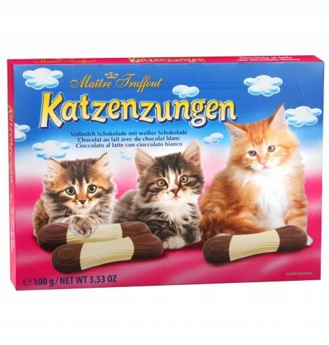 Kocie Języczki czekoladki 100 g