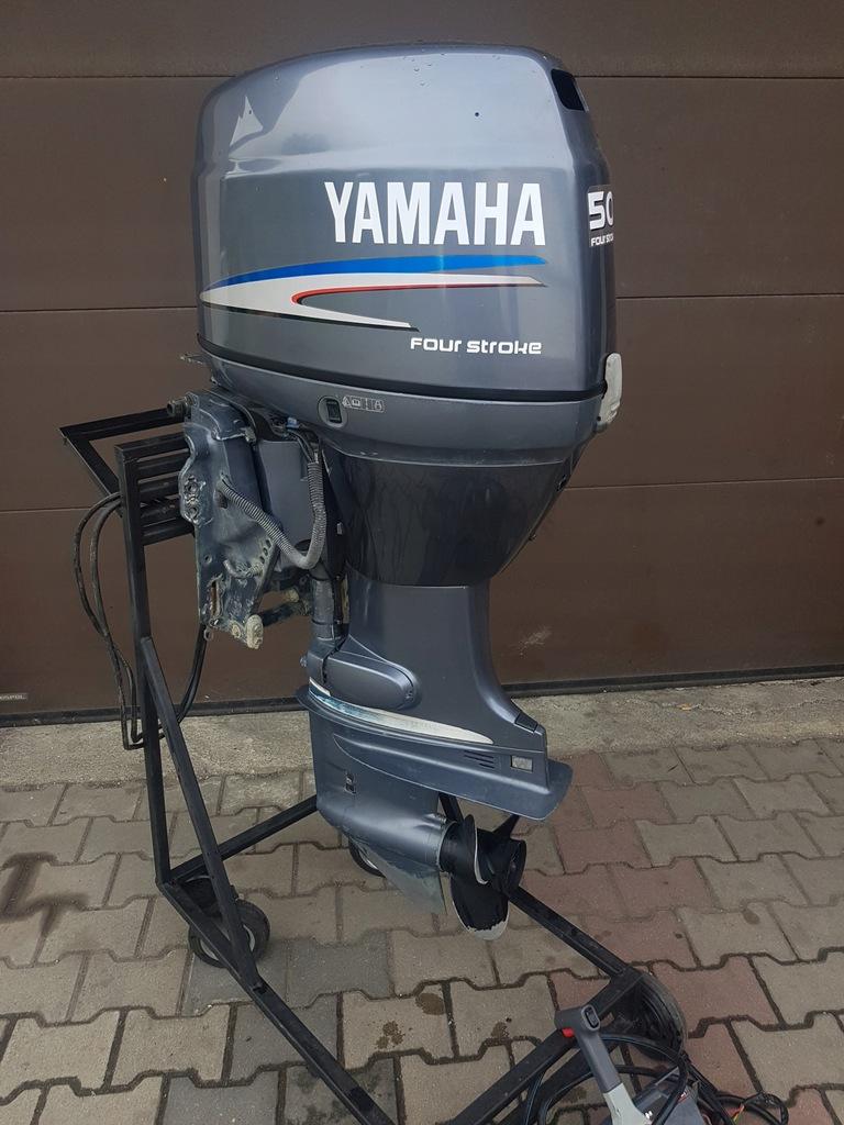 Silnik Zaburtowy Yamaha 50 Km Trym Manetka 8458286524 Oficjalne Archiwum Allegro