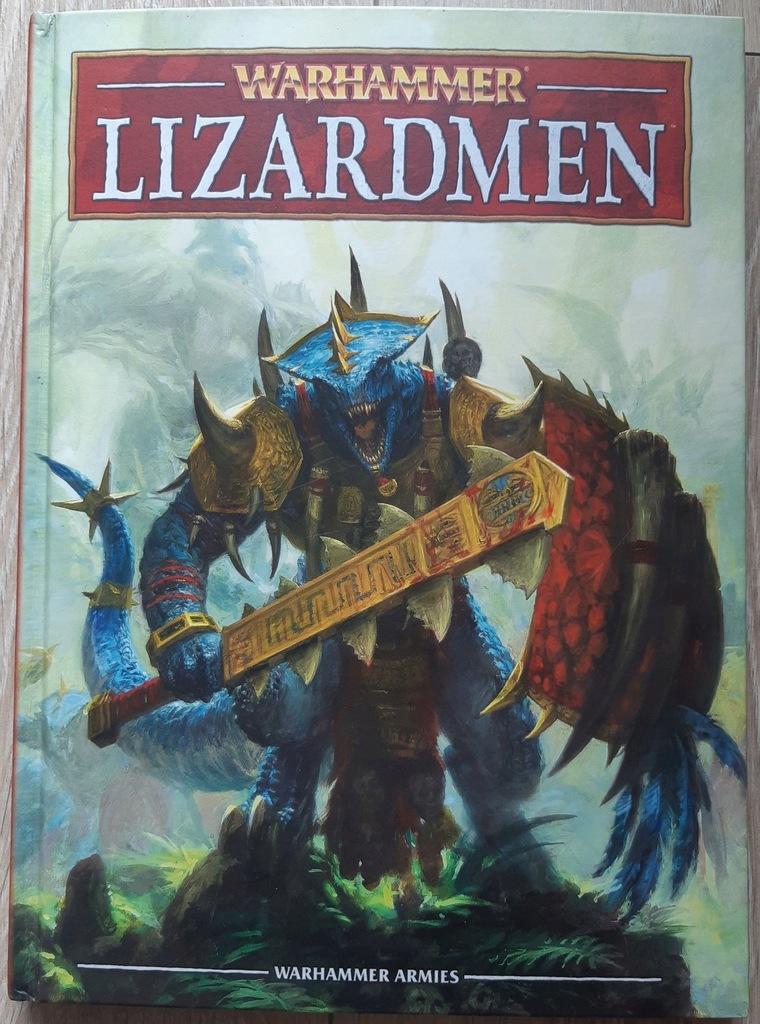 Lizardmen Armybook 8ed