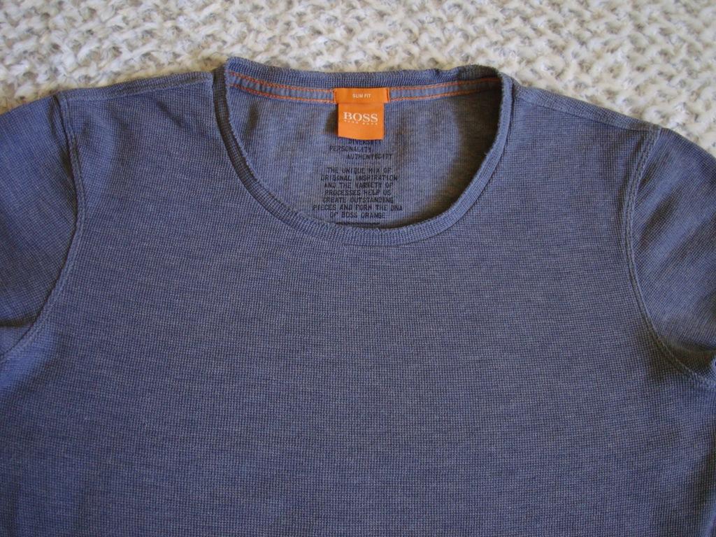 Hugo Boss koszulka z długim rękawem roz L jak nowa