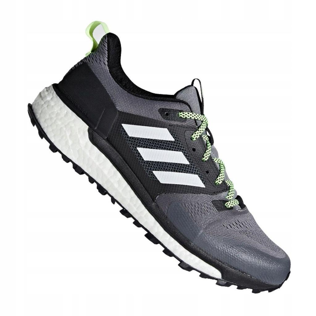 Czarne Syntetyk Buty Treningowe Adidas r.41 1/3