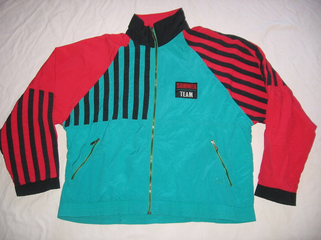 Bluza kurtka dres piłka nożna Puma Oldschool XL