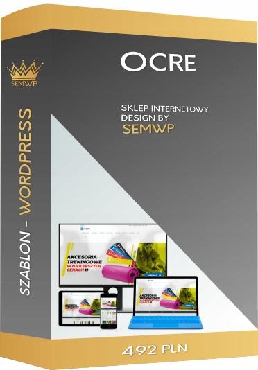 Szablon CMS WordPress Sklep Internetowy Ocre
