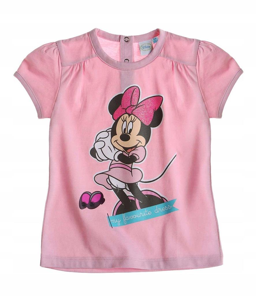 Myszka Minnie koszulka dziecięca 62 t-shirt Disney
