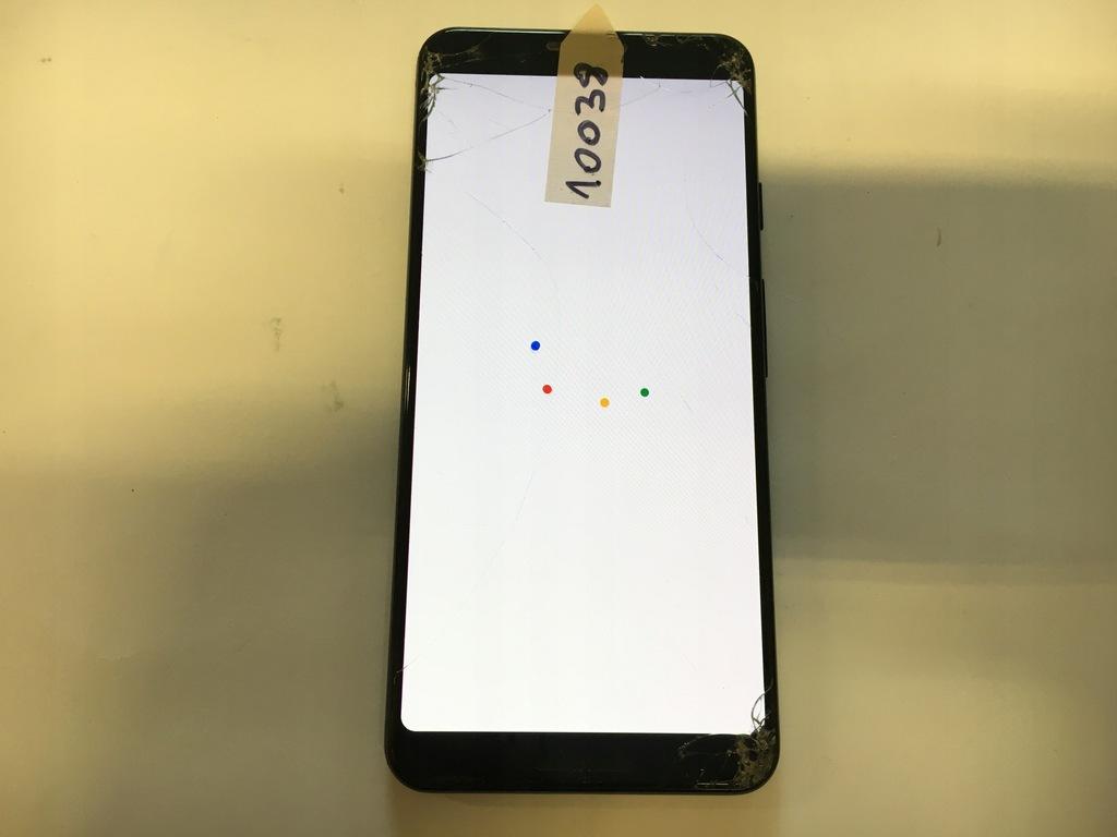 Google Pixel 3 64gb black NR 10038