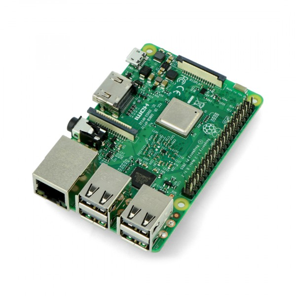 Raspberry Pi 3 model B WiFi BT 1GB RAM 1,2Ghz