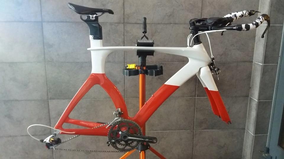 Rower czasowy / triathlon 56 cm carbon SRAM