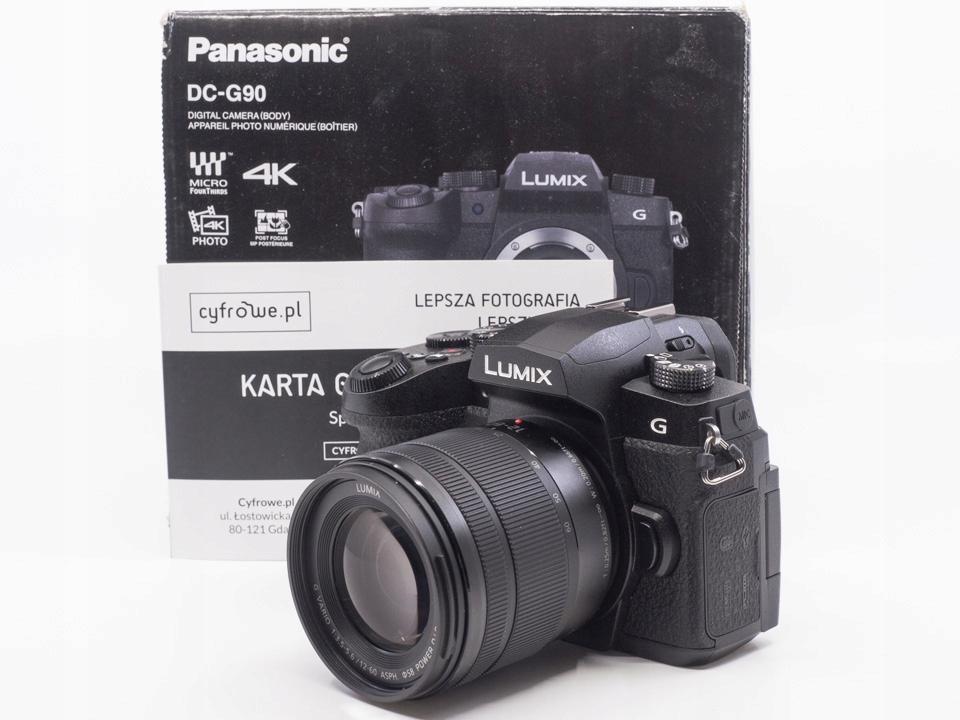 Panasonic LUMIX DMC-G90 + ob. 12-60 f/3.5-5.6 czar