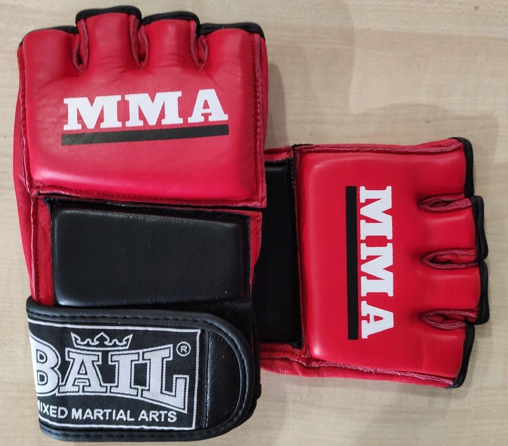 Bail rękawice skórzane MMA M