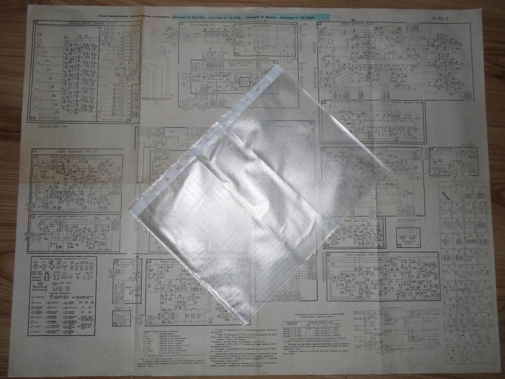 Oryginalna instrukcja schemat ideowy ELEKTRON 51