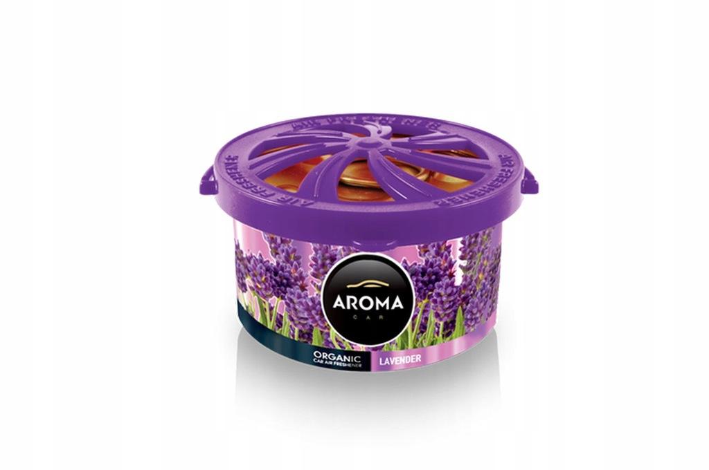 Odświeżacz powietrza aroma organic lavender