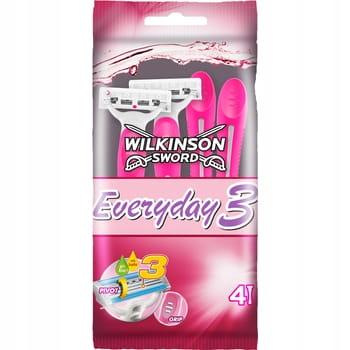Wilkinson EVERYDAY 3 DLA KOBIET / 4 szt