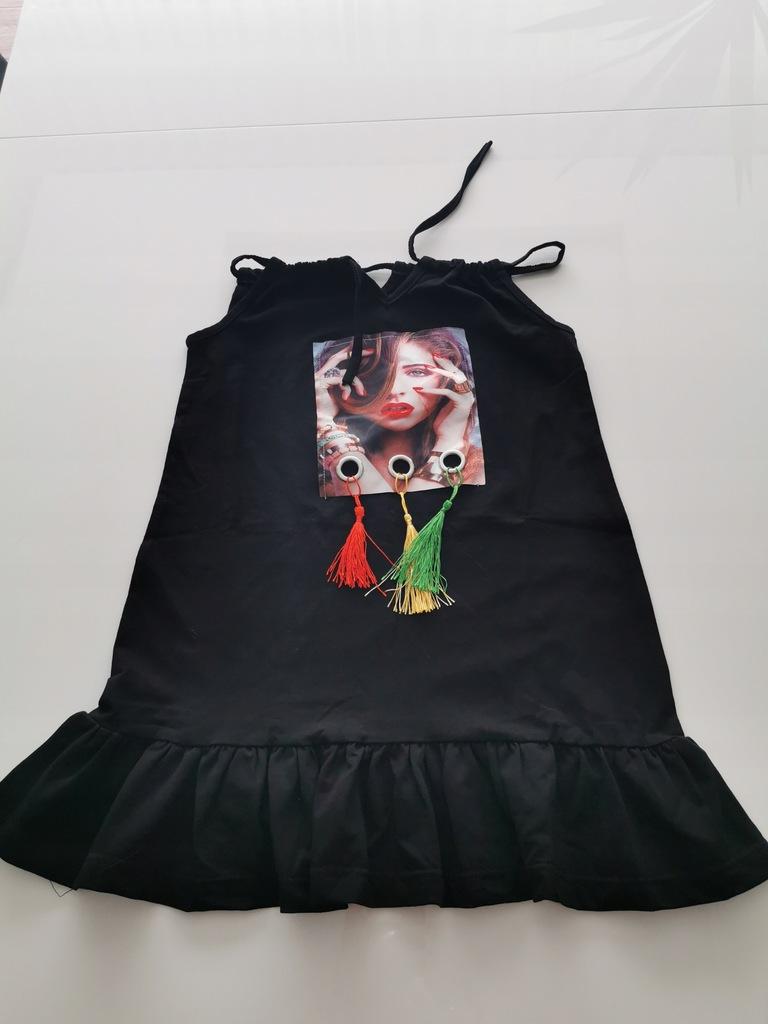 Piękna sukienka dziewczęca 104