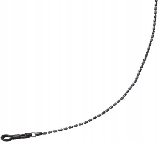 Henri Beaud sznurek szklany Cyl. TFX3 65 cm szary