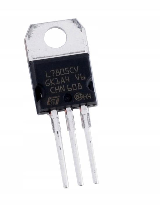 Stabilizator napięcia L7805 LM 7805 TO220 5V 1,5A