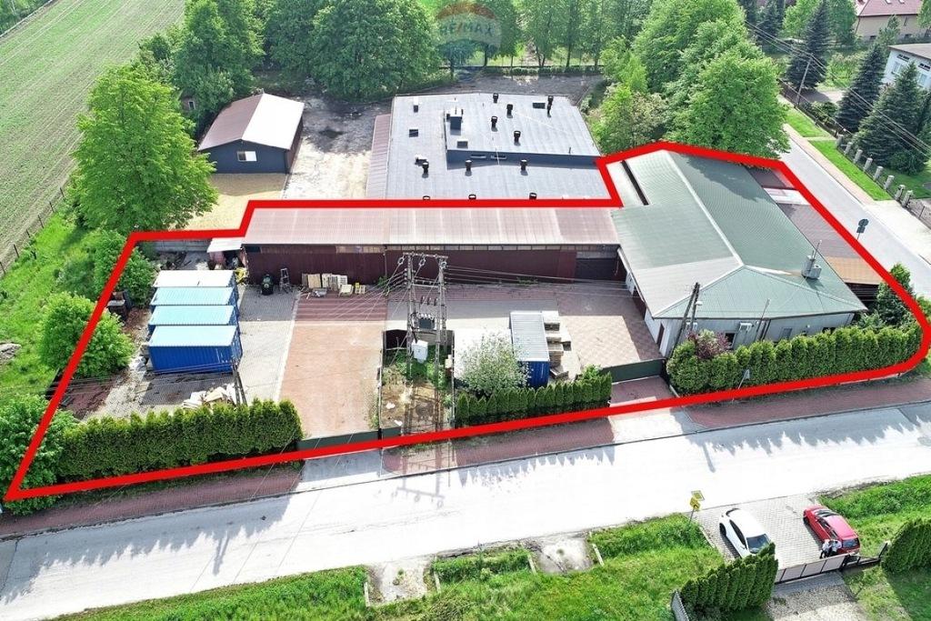 Magazyny i hale, Rędziny, Rędziny (gm.), 500 m²